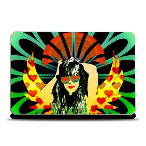 Woman of substance! Laptop Skins | Artist : Design_Dazzlers