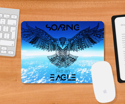 Soaring Eagle | The Ultimate Mousepad | Artist : Pragya Bhandari