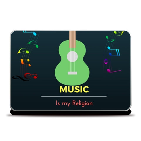 Music is my Religion Laptop Skins | Artist : Pallavi Rawal