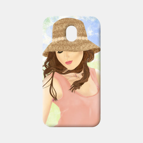 Moto G3 Cases, Girl Moto G3 Cases | Artist : Deepak NT, - PosterGully