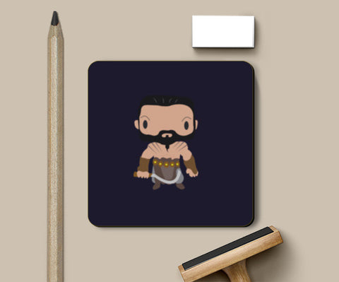 Khal Drogo Games of Throne Funny Coasters | Artist : Aniket Kamal