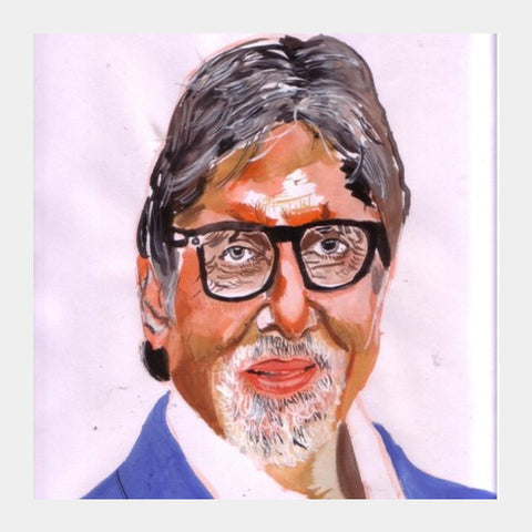 Amitabh Bachchan Is Dedicated To His Craft Square Art Prints PosterGully Specials