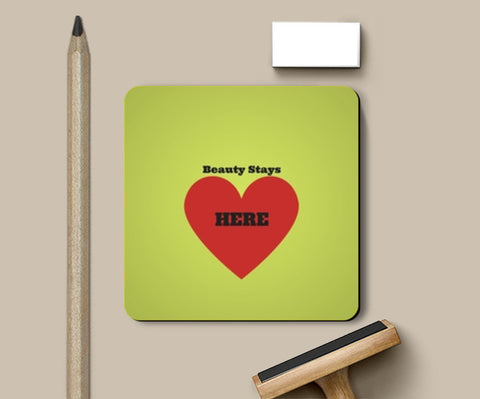 Beauty is in the Heart Coasters | Artist : Pallavi Rawal