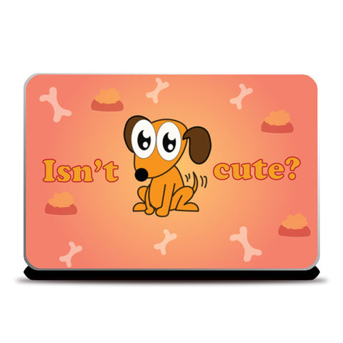 Laptop Skins, cute dog Laptop Skins | Artist : Anuj Goyal, - PosterGully