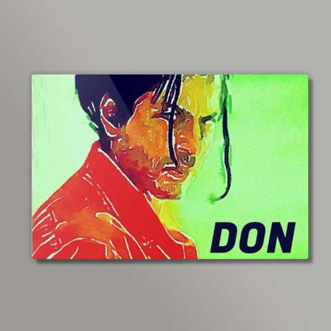 Shahrukh Khan as Don Metal Prints | Artist : Delusion