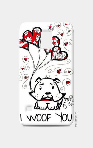I Woof You Samsung S5 Cases | Artist : the unskilled artist