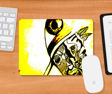 Mousepad, Artist and the third eye Mousepad | Vikrant Khirwar, - PosterGully