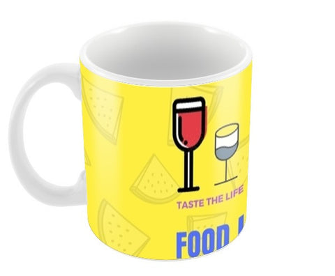 The Food Lover Coffee Mugs | Artist : Pallavi Rawal