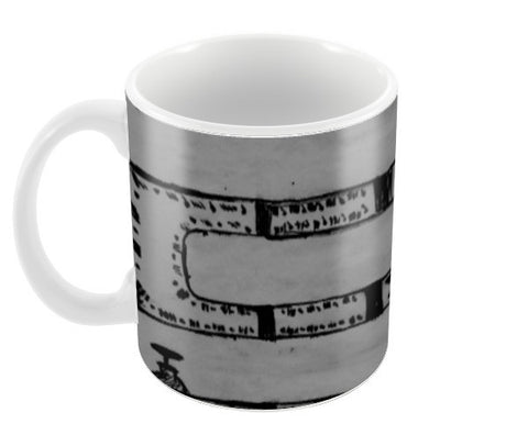 Pipeline Grey Coffee Mugs | Artist : prat