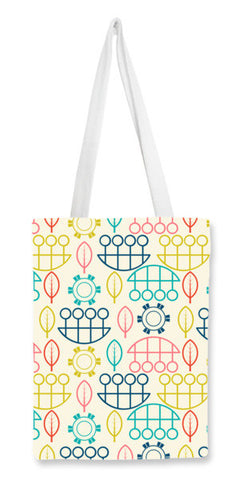 Multicolored art design vector pattern Tote Bags | Artist : Designerchennai