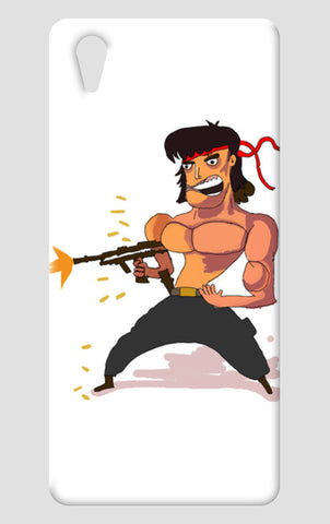 John Rambo One Plus X Cases | Artist : Nalin Singh