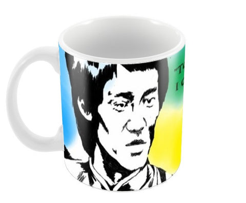 bruce lee Coffee Mugs | Artist : atul Kumar