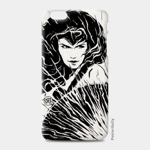 Wonder Woman fan art iPhone 6 Plus/6S Plus Cases | Artist : Monisha Miriam