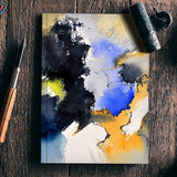 abstract 6123 Notebook | Artist : pol ledent