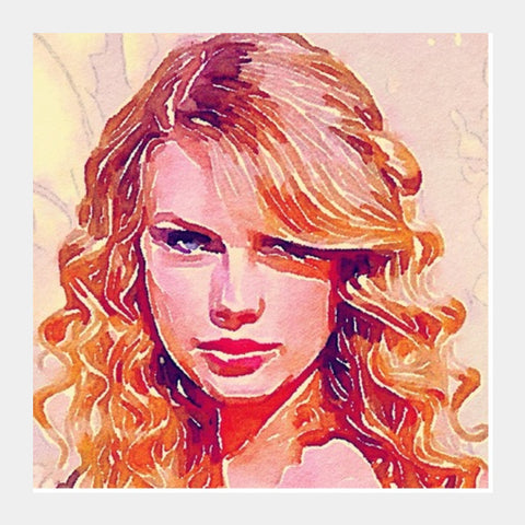 Taylor Swift Square Art Prints | Artist : Delusion