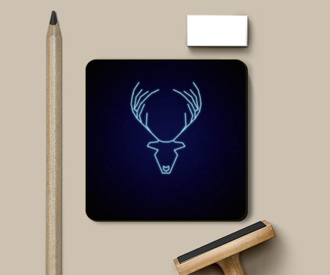 Coasters, The stag Coasters | Artist : marika, - PosterGully