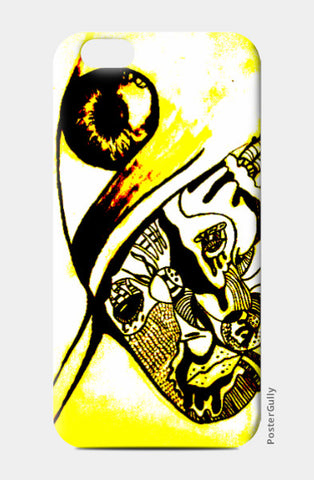 iPhone 6 / 6s, Artist and the third eye iPhone 6 / 6s Case | Vikrant Khirwar, - PosterGully
