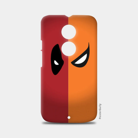 Moto X2 Cases, DeadPool vs DeathStroke Moto X2 Cases | Artist : Angad Singh, - PosterGully