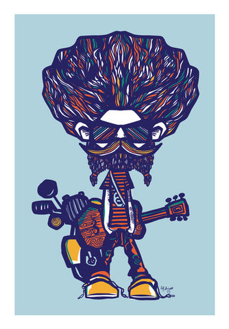 Wall Art, musical guy Wall Art | Artist : abhijeet sinha, - PosterGully