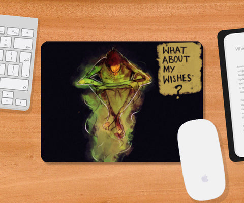 Thoughts Mousepad | Artist : Bhukkkad
