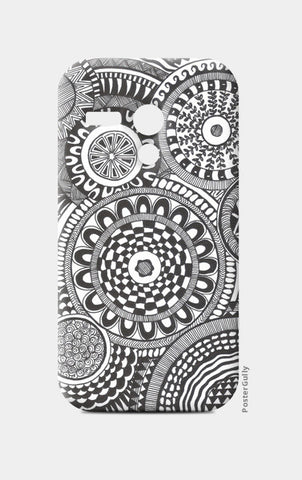 Prints in Circles Moto G Cases | Artist : Aniket Mitra