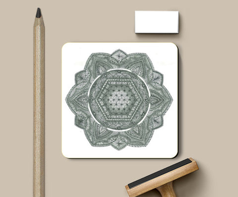 The Flower Of Life Coasters | Artist : My-Tree