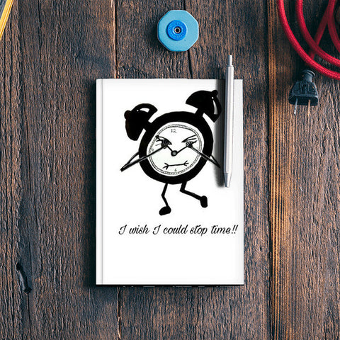 Let's stop time  Notebook | Artist : Mohor