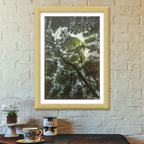 By way of nature Premium Italian Wooden Frames | Artist : Sanjana Swami