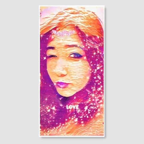 The Quirky Goddess | Digi Art Door Poster | Artist : Nandini Rawat