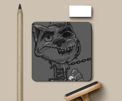 Coasters, Zombie Cat Coasters | Artist : Safal Adam, - PosterGully