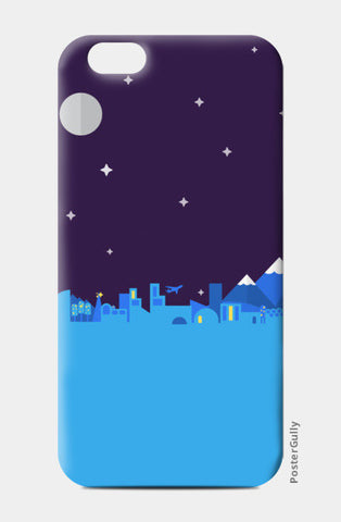 Midnight City iPhone 6/6S Cases | Artist : Ninja Bunny