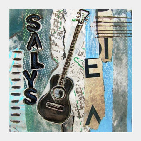 Salys Guitar Square Art Prints PosterGully Specials