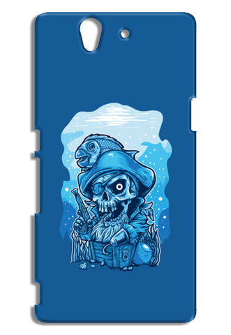 Cartoon Pirates Sony Xperia Z Cases | Artist : Inderpreet Singh