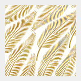 Golden Palm Square Art Prints | Artist : Uma Gokhale