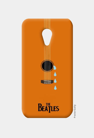 Moto G2 Cases, Beatles While My Guitar Gently Weeps Moto G2 Case | Artist: Revant Mahajan, - PosterGully