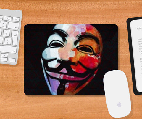 Mousepad, Ideas Are Bulletproof Mousepad | Artist: Deepak Gupta, - PosterGully