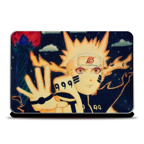 Laptop Skins, Naruto-Blood moon Laptop Skin | Artist:Abhilash Katta, - PosterGully