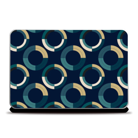 Fashionable 3d circle pattern Laptop Skins | Artist : Designerchennai
