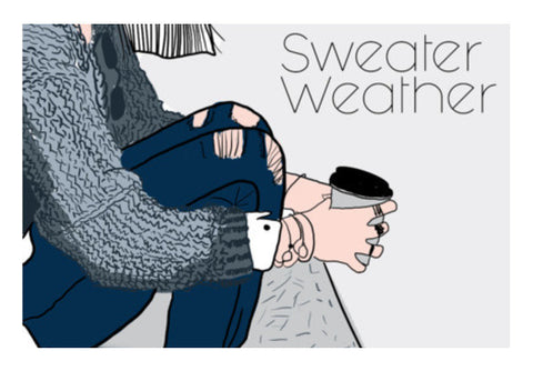 Sweater Weather Art PosterGully Specials