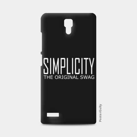 simple is swag Redmi Note Cases | Artist : Keshava Shukla