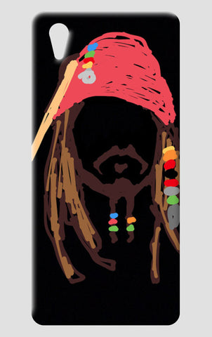 Jack Sparrow Pirates Of The Caribbean Minimal Doodle One Plus X Cases | Artist : Praband
