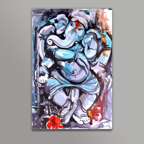 ganesha Metal Prints | Artist : Pradeesh K