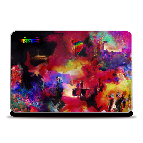 Laptop Skins, COLDPLAY | Hymn For The Weekend Laptop Skins | Artist : SREY, - PosterGully
