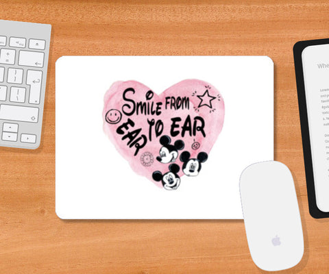 Smile From Ear To Ear Mousepad | Artist : Anniez Artwork