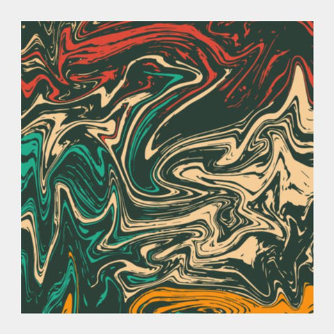 PosterGully Specials, Colorful Marble Square Art Prints | Artist : Designerchennai, - PosterGully
