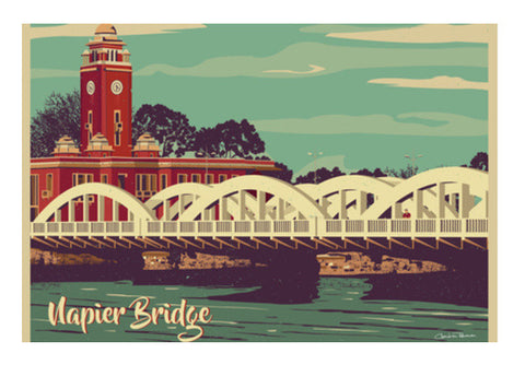 Napier Bridge Wall Art  | Artist : Chandran Ravanan