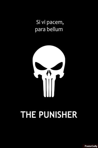 Wall Art, The Punisher Artwork | Artist: Loco Lobo, - PosterGully - 1