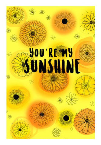 PosterGully Specials, You're my Sunshine Wall Art | Artist : Anjali Nilakantan, - PosterGully