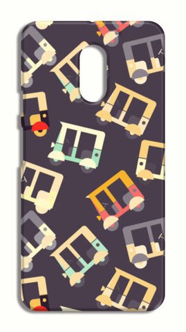 Auto rickshaw quirky pattern LeEco Le2 Cases | Artist : Designerchennai