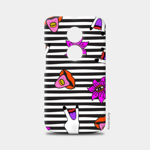 Get Psyched Moto X2 Cases | Artist : Aam Papad
